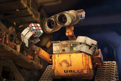 WALL-E Rubix cube
